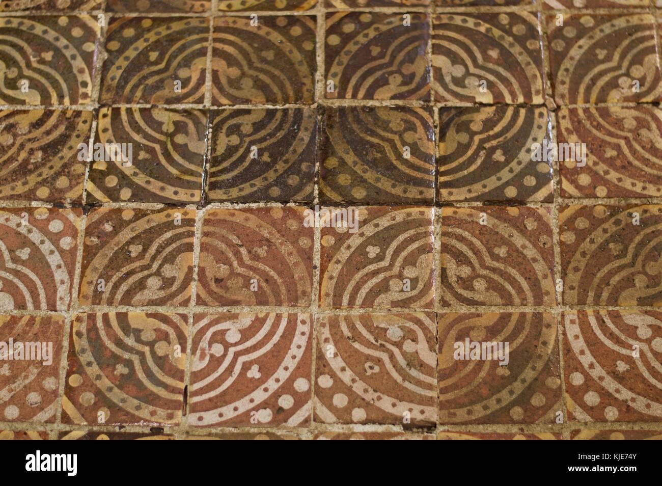 Roman floor tiles stock photos roman floor tiles stock images alamy original roman mosaic tiles on floor of winchester cathedral uk stock image dailygadgetfo Image collections