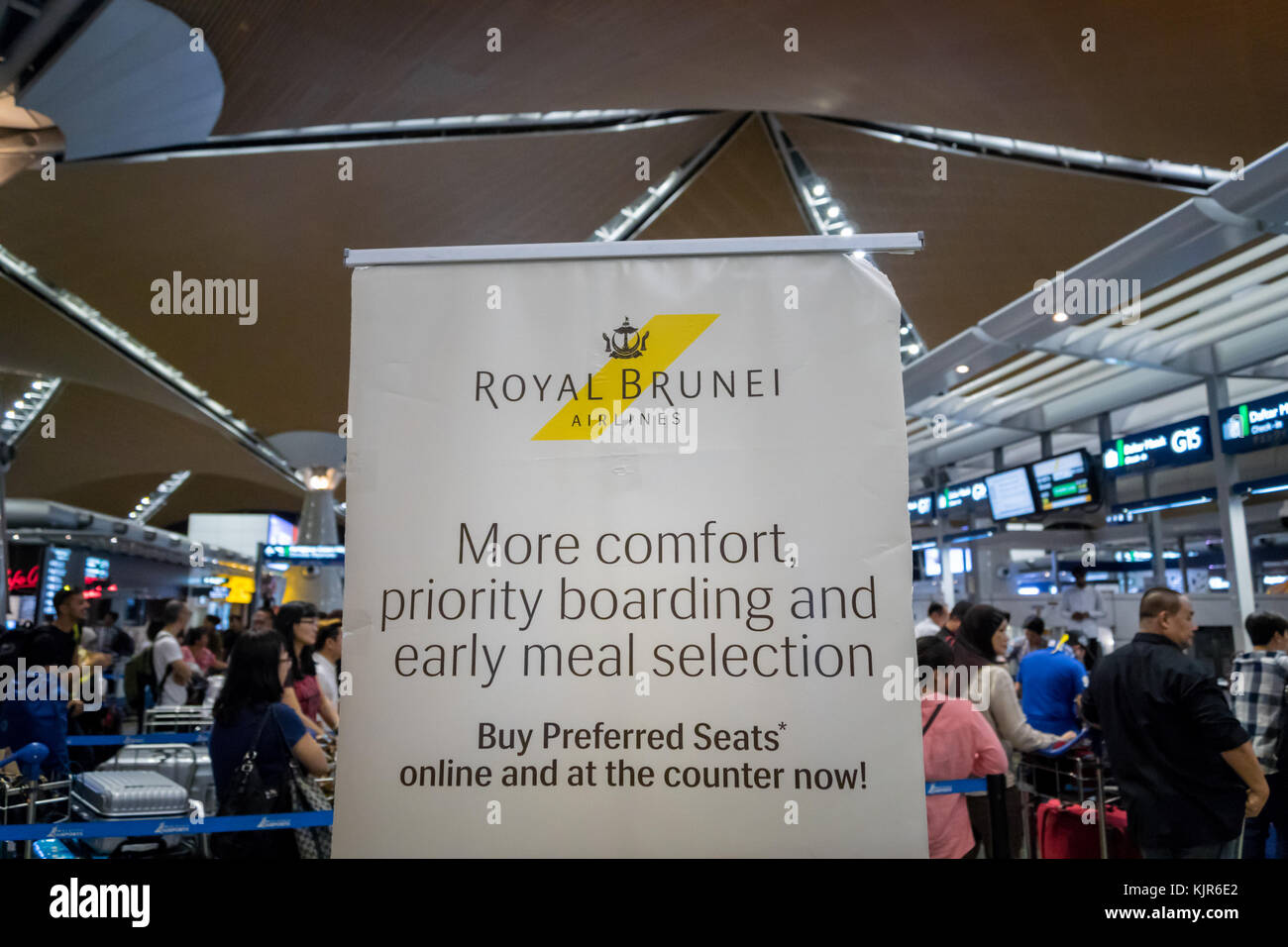 Airport immigration counter stock photos airport - Singapore airlines kuala lumpur office ...