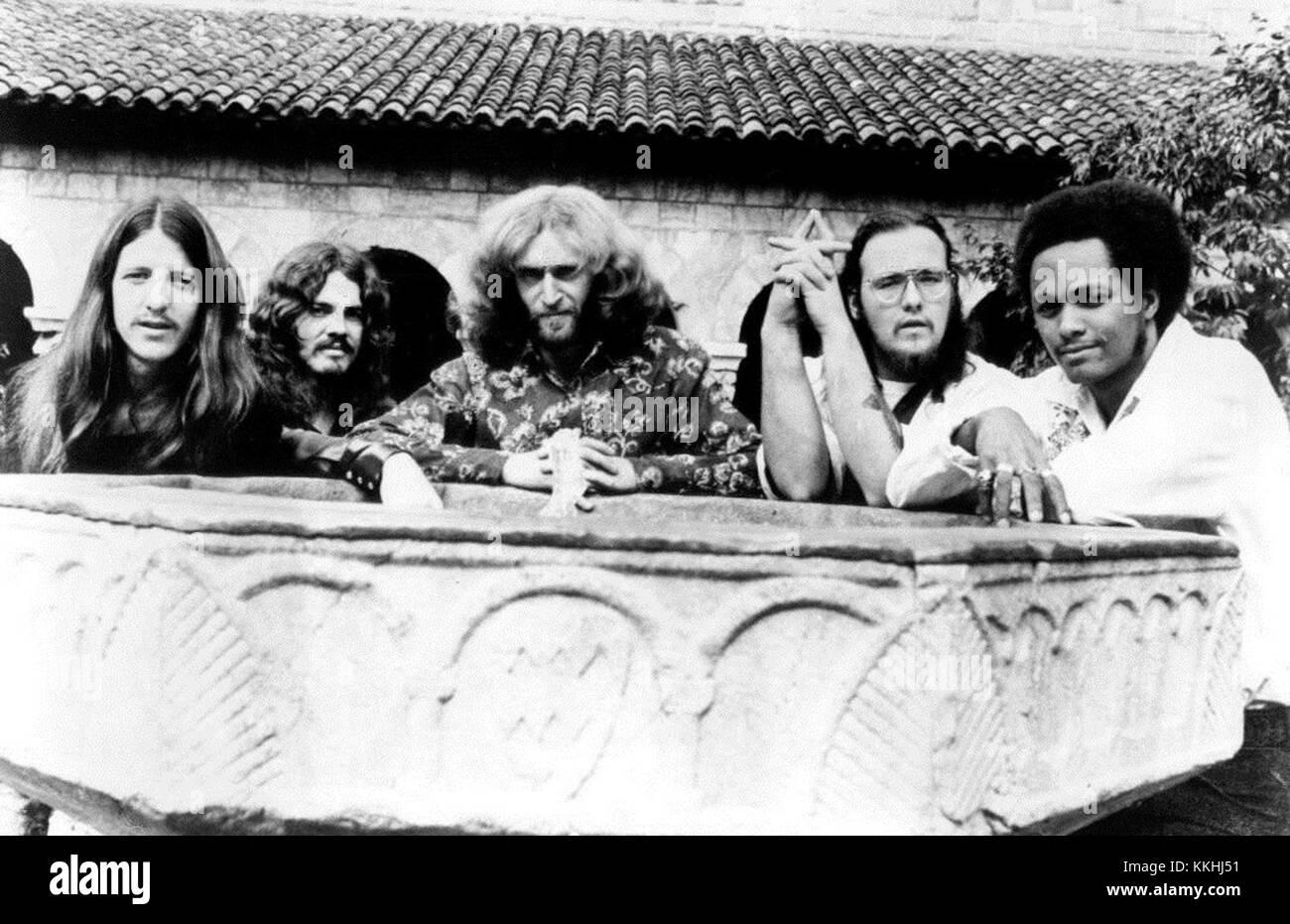 Doobie Brothers 1972 Stock Photo