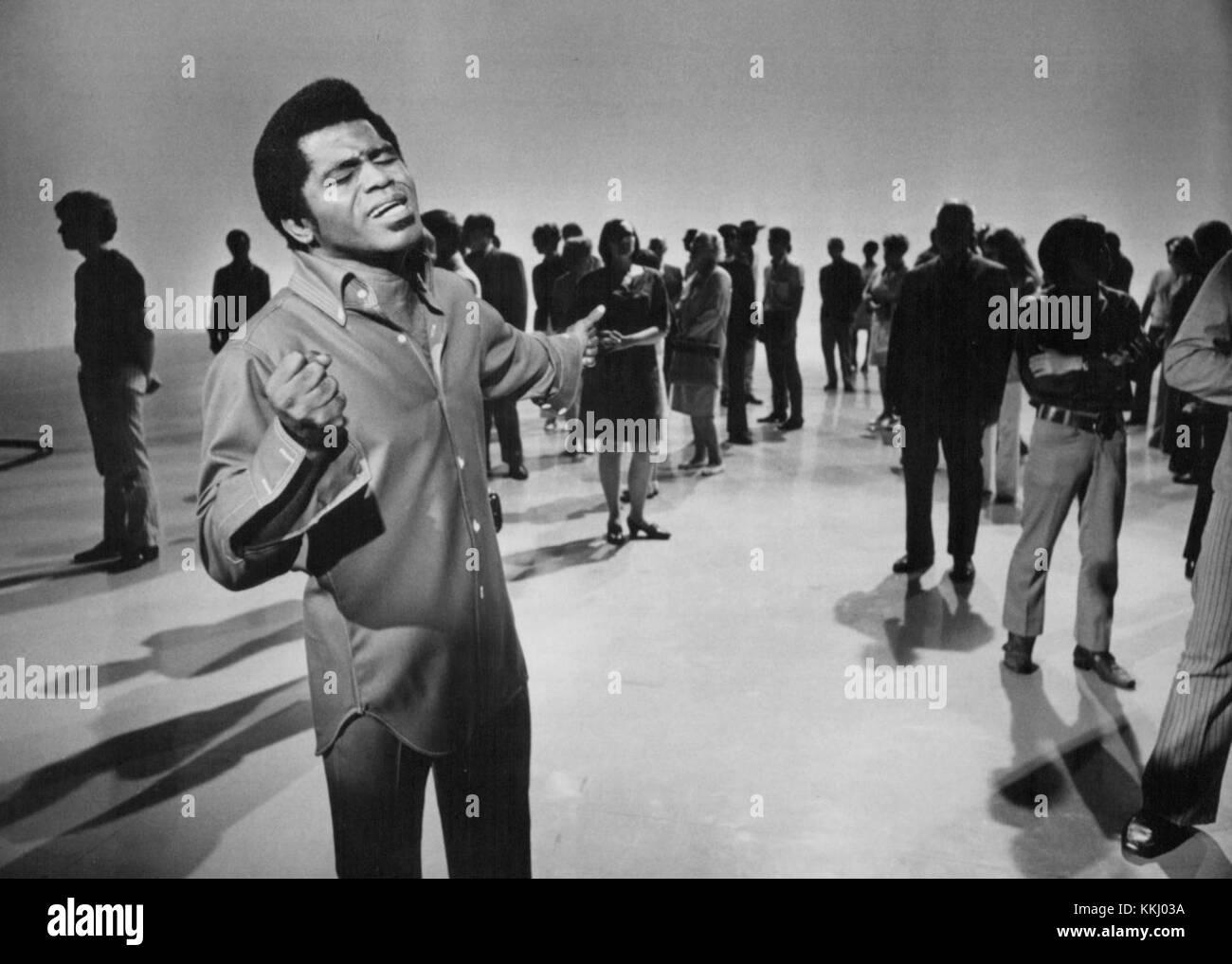 James Brown Music Scene 1969 Stock Photo