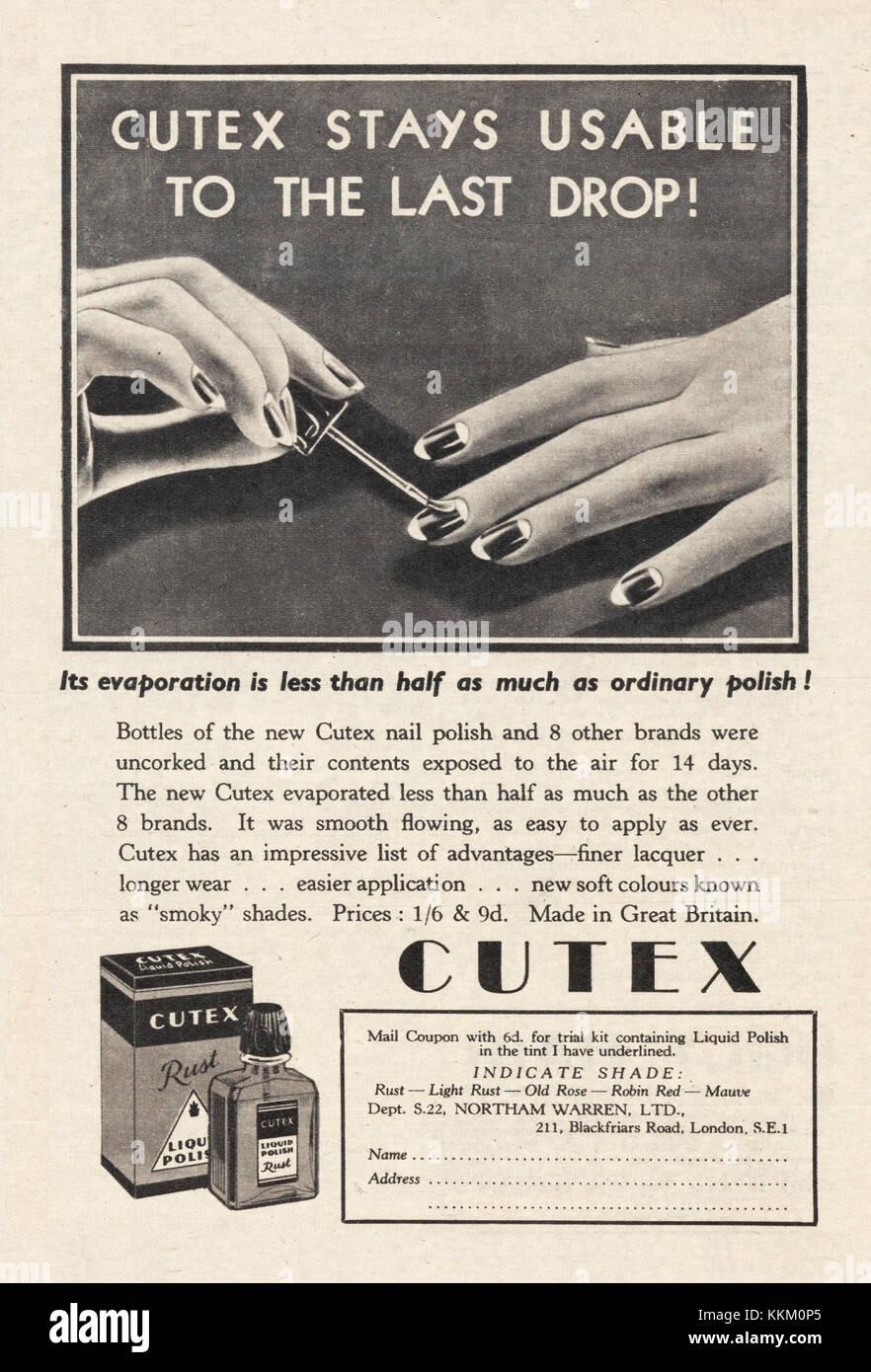 Cutex Stock Photos & Cutex Stock Images - Alamy