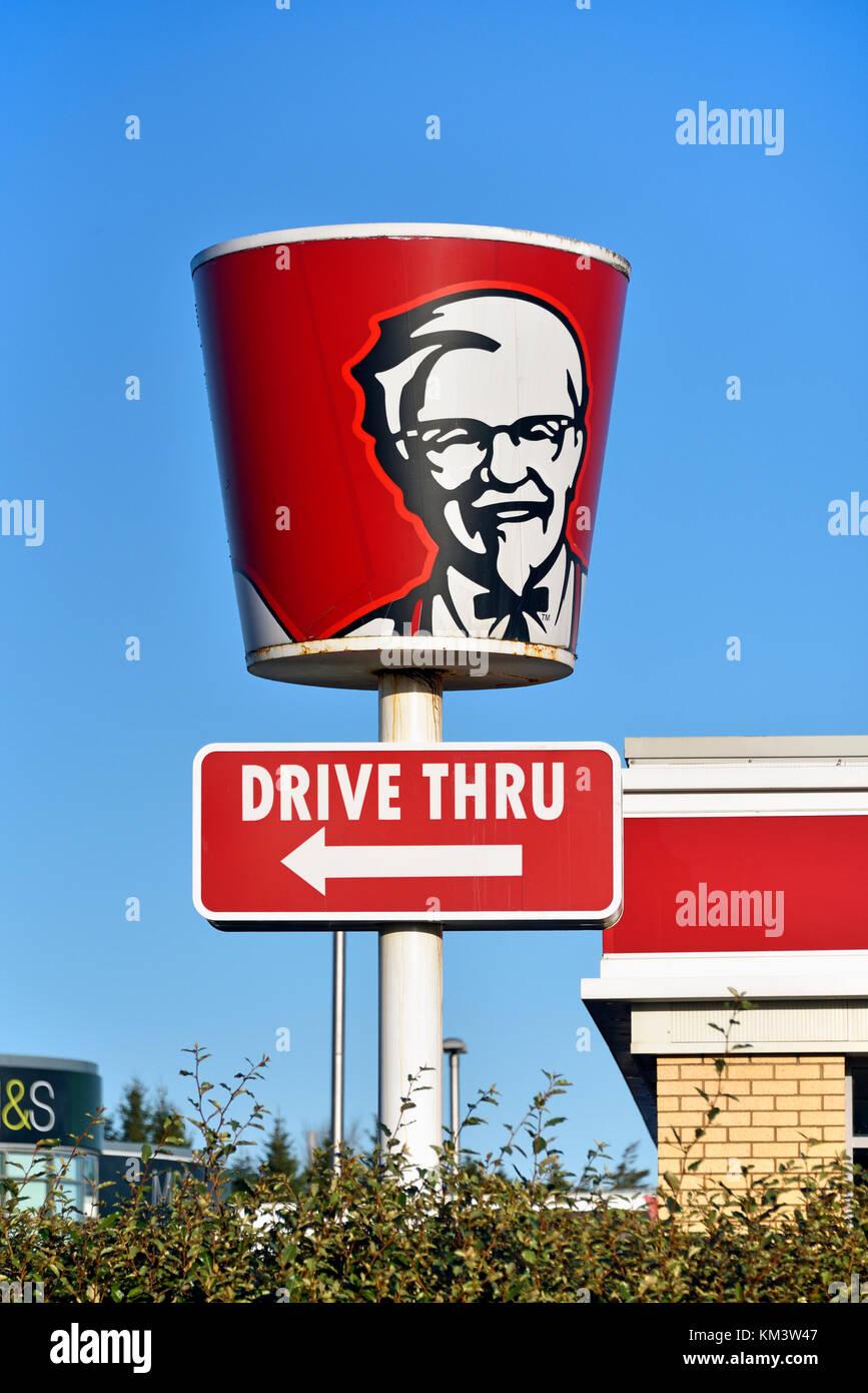 kentucky-fried-chicken-kfc-drive-thru-logo-craigleith-retail-park-KM3W47.jpg