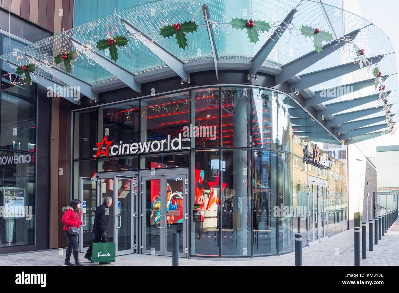 Cineworld Cinema, The Lexicon shopping centre, Eagle Lane, Bracknell, Berkshire, England, United Kingdom Stock Photo