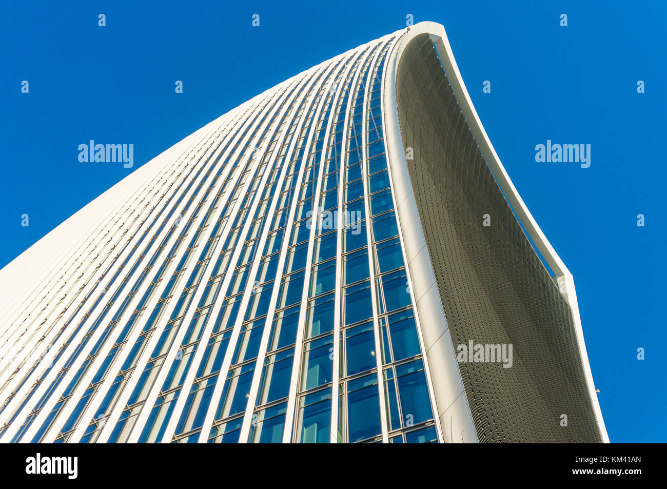 England London England city of London The Walkie talkie building skyscraper or 20 Fenchurch Street City of London - Stock Image
