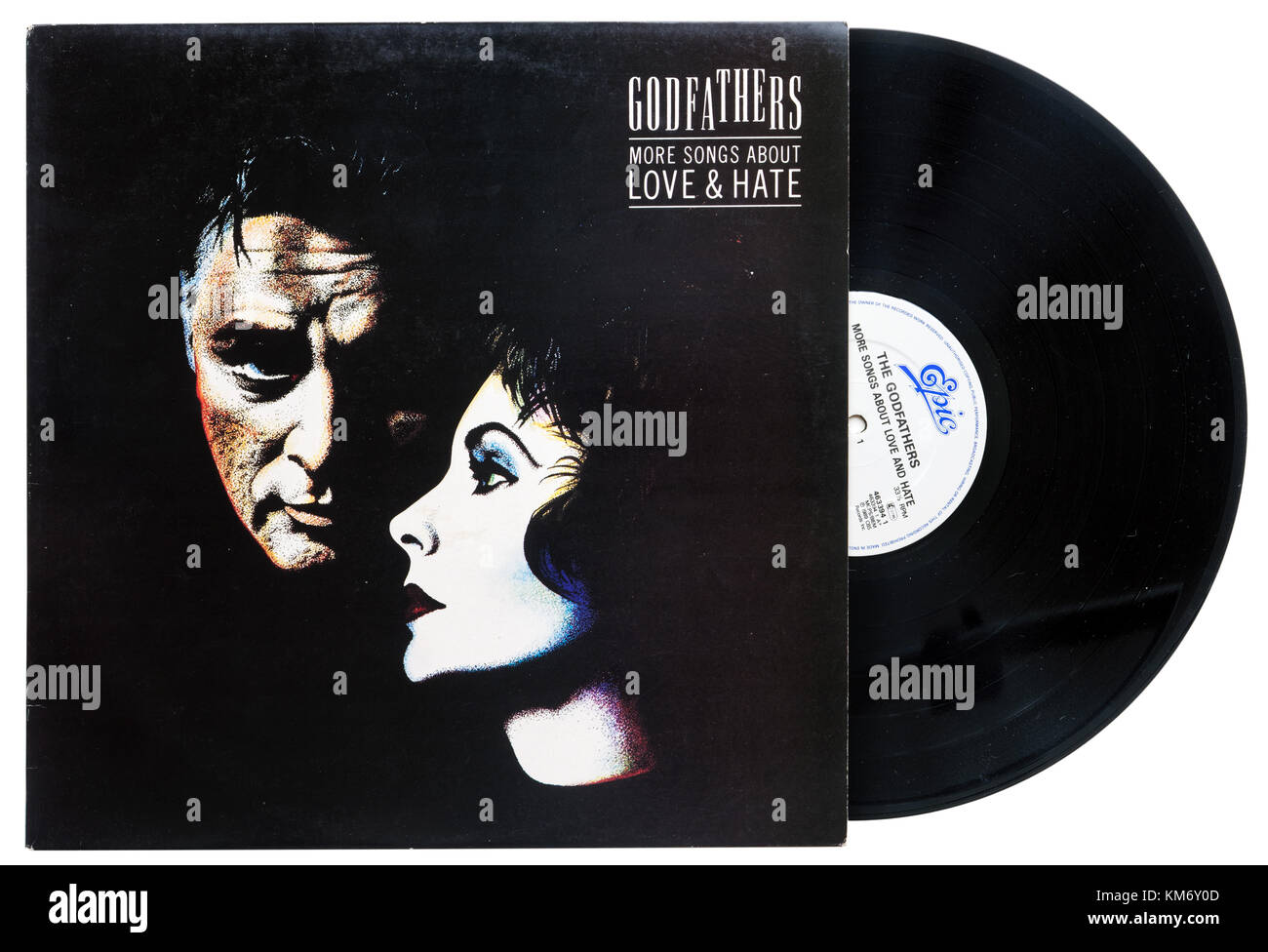 Godfathers More Songs a ABout Love and hate album - Stock Image