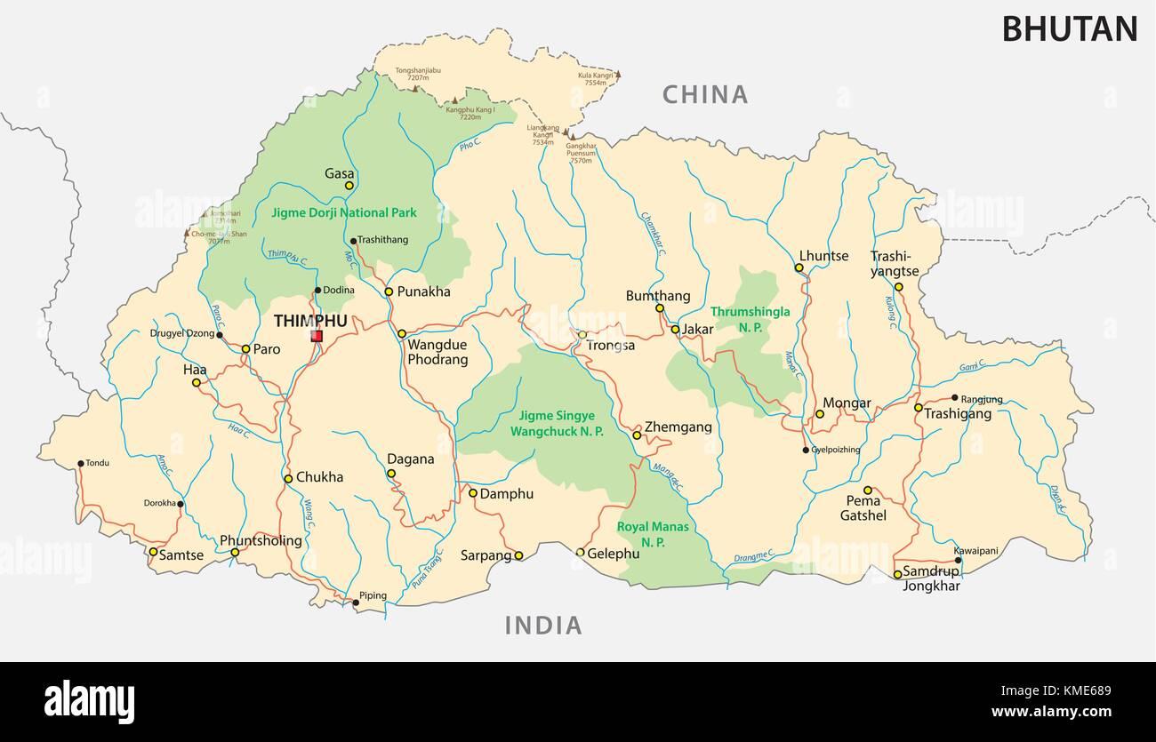 Bhutan Stock Vector Images Alamy