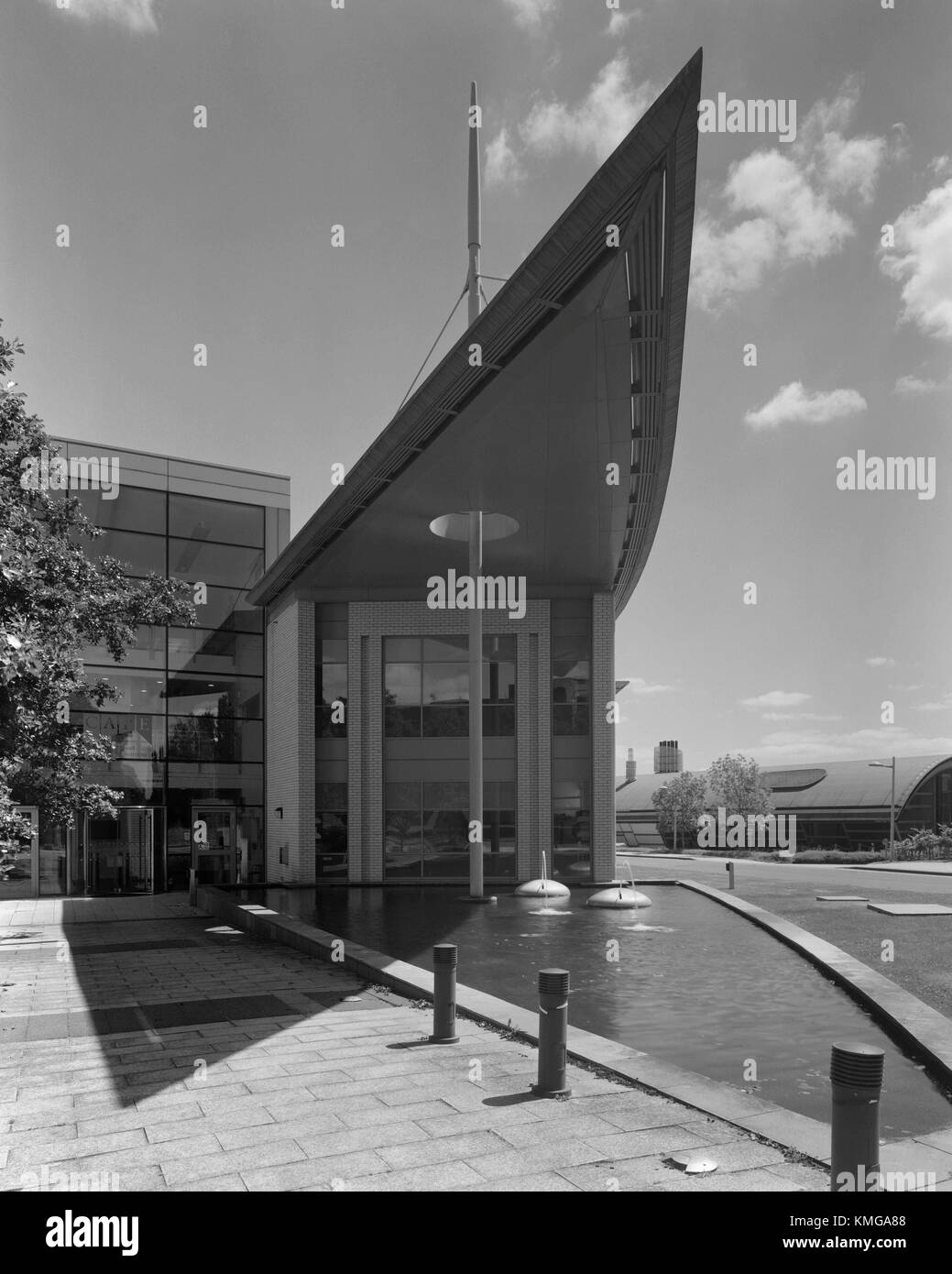 Centre for Advanced Photonics and Electronics of Cambridge University Department of Engineering on the West Cambridge - Stock Image