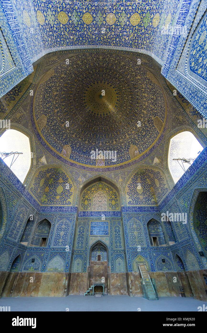 Shah Mosque, also known as Imam Mosque, Isfahan, Iran. Stock Photo