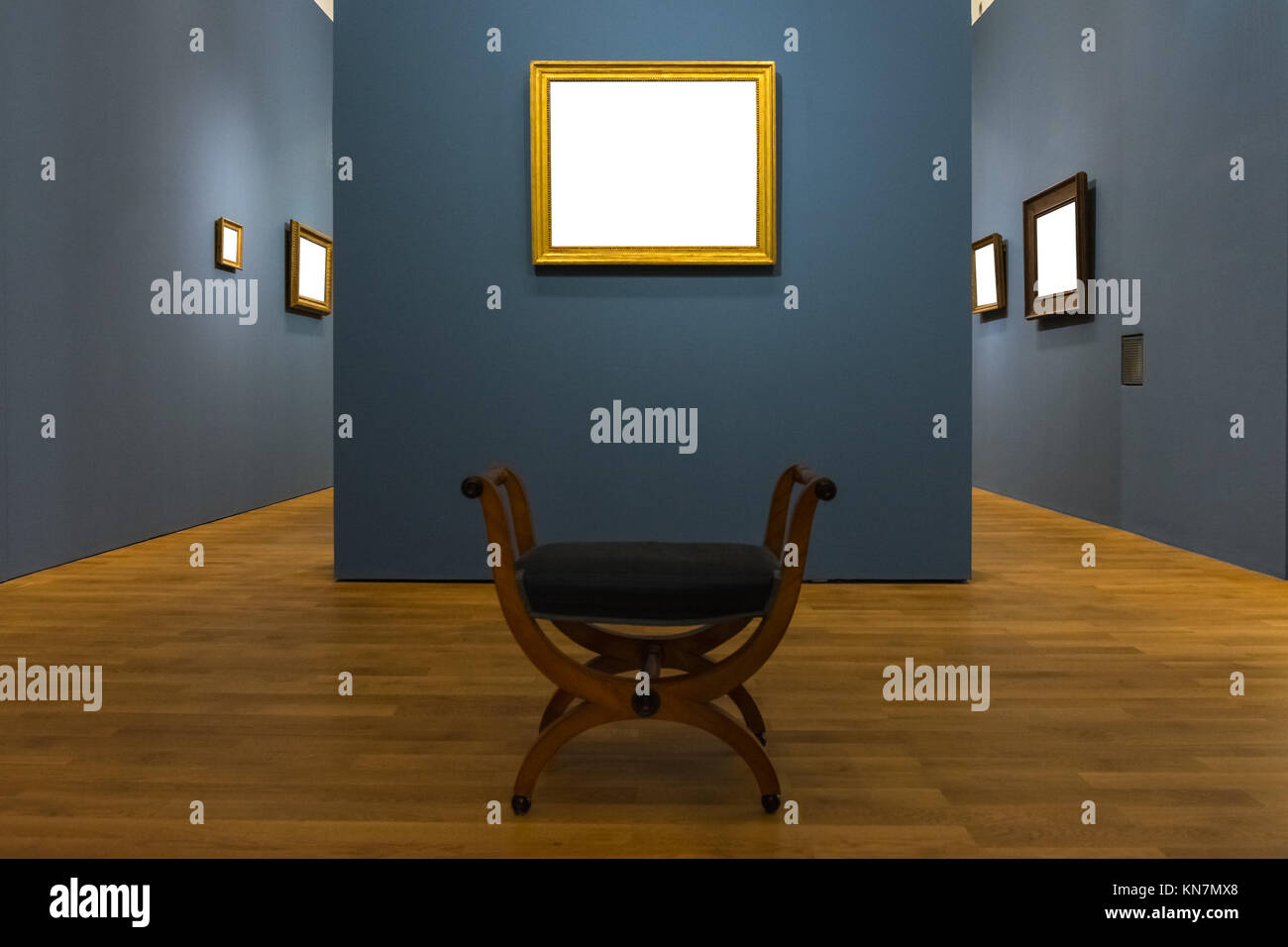 b1954e10bbee Blank Art Museum Isolated Painting Frame Decoration Indoors Wall White  Template