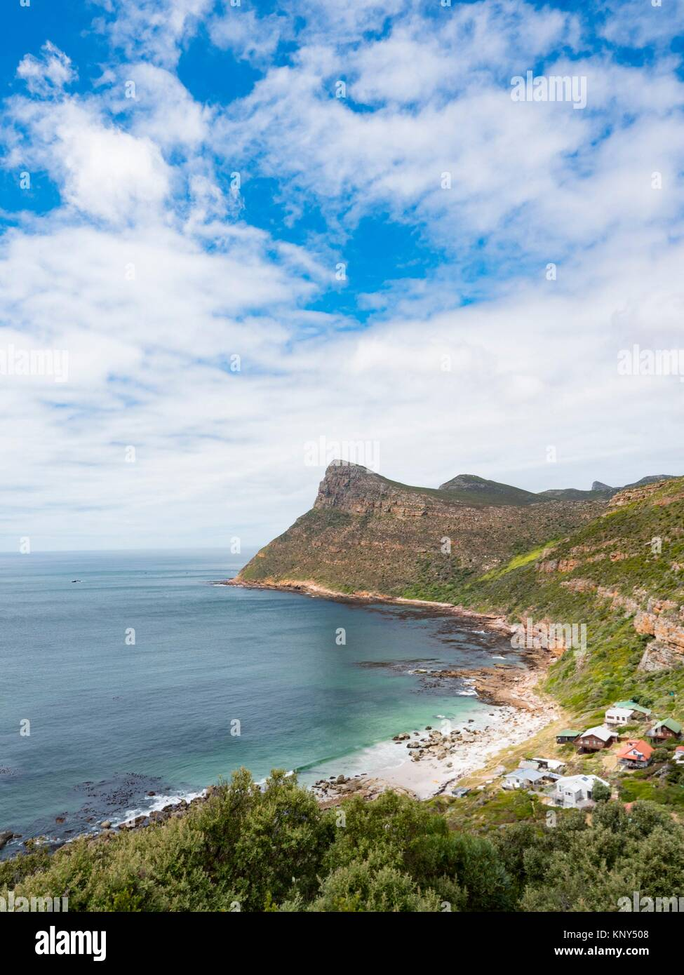 South Africa Cape Point View. - Stock Image