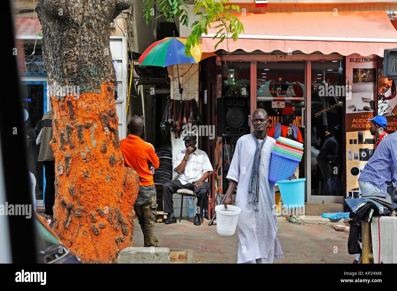 Dakar, Senegal, West Africa. - Stock Image
