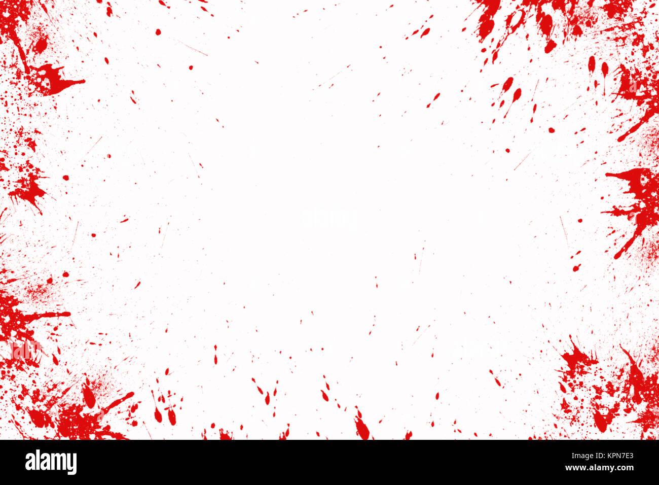 Blood Splatter Halloween Background