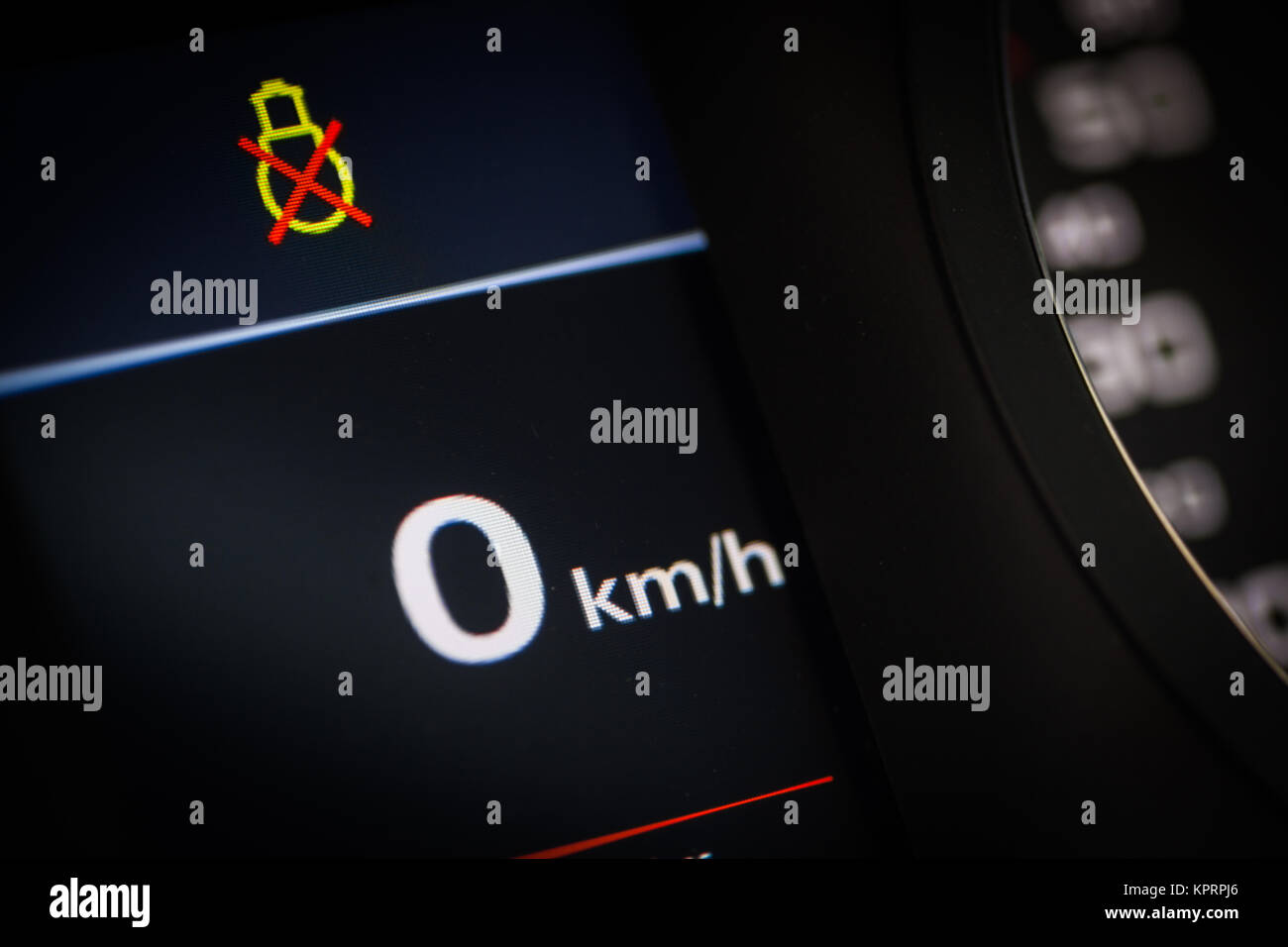 Lights Symbol In A Car Stock Photo 168938398 Alamy