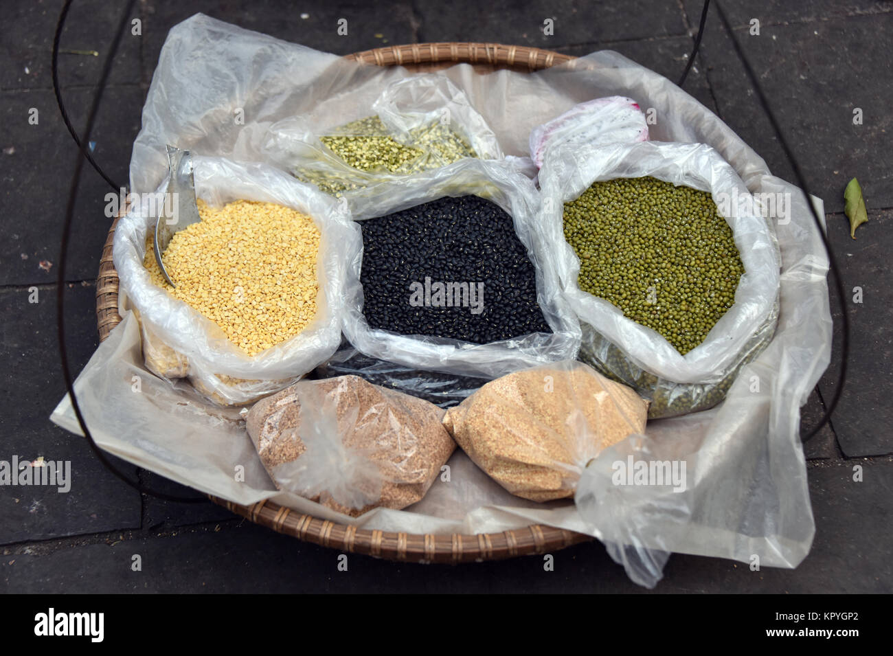 Seeds and Spices - Stock Image