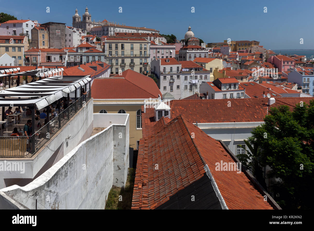 View of Lisbon, Portugal - Stock Image
