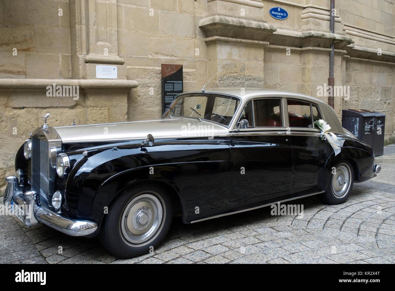 1959 Rolls-Royce Silver Cloud - Stock Image