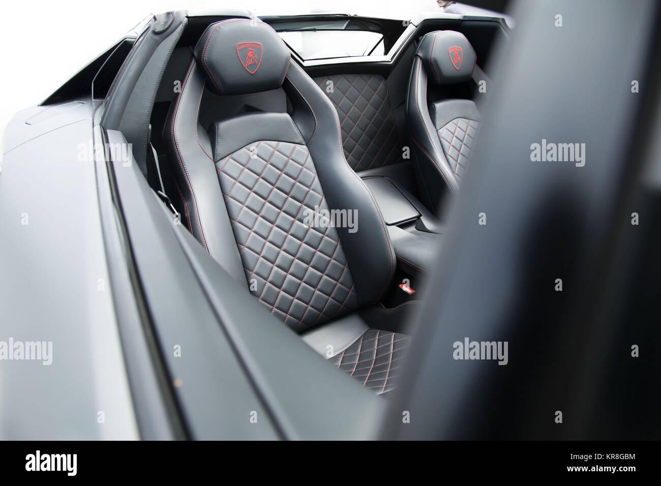Lamborghini Aventador Flat Metallic Exterior Interior Stock