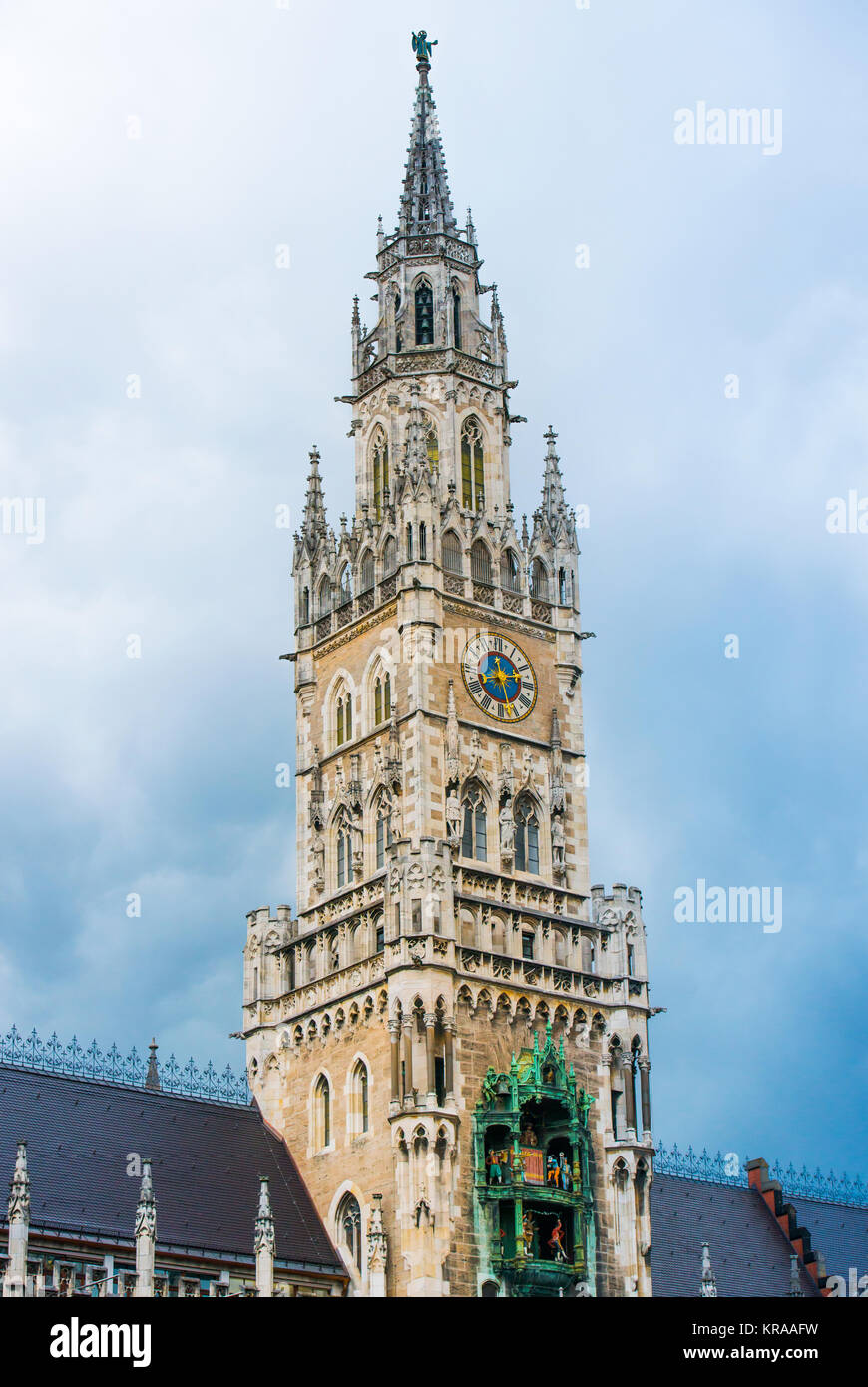 Hall in Munich - Stock Image