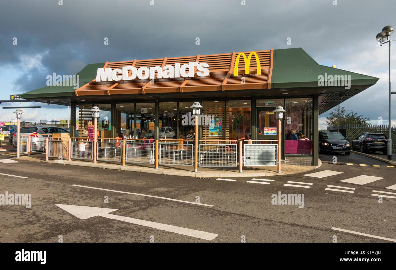 Fast Food Drive Thru Lighting