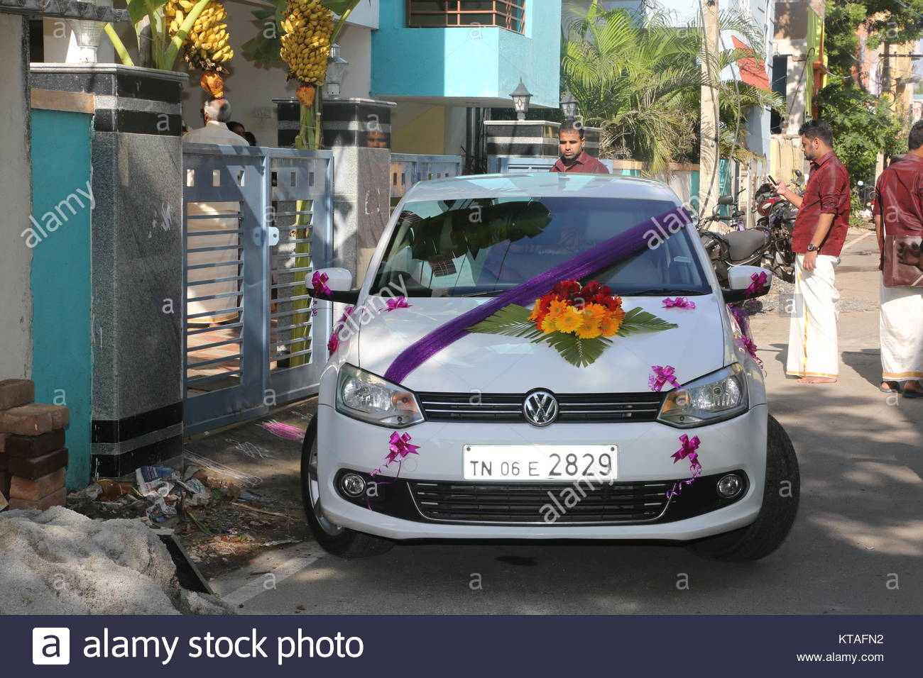 Hindu Wedding Indian Wedding Car Decoration Photos