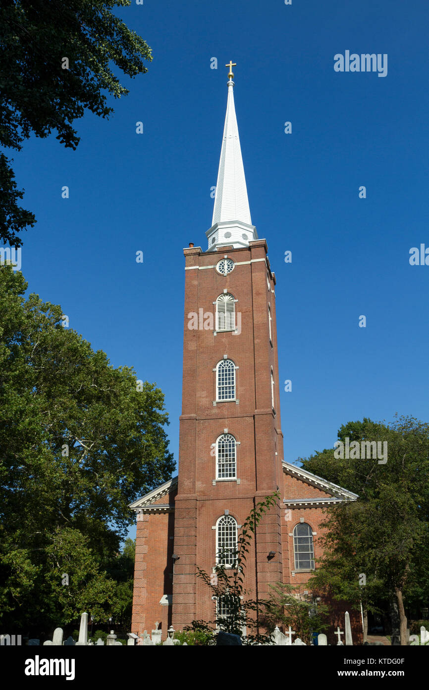 St. Peter's Episcopal Church, Society Hill in Philadelphia, Pennsylvania, United States. - Stock Image