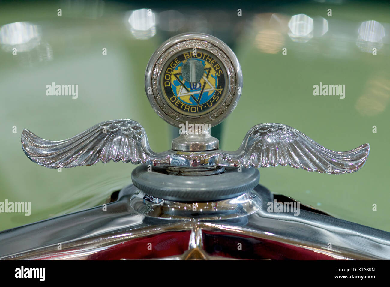 Classic Car Detail Of Badge Dodge Brothers Stock Photo 170003225
