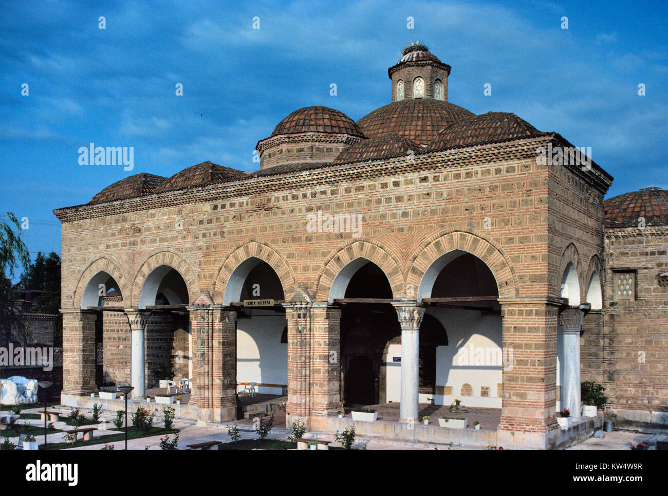Nilufer Hatun Soup Kitchen, or Imaret, built in 1388, now a Museum, Iznik,  Turkey