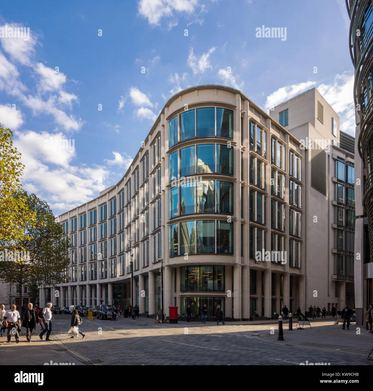 30 Gresham Street, by architects Sidell Gibson Partnership, City of London, UK - Stock Image