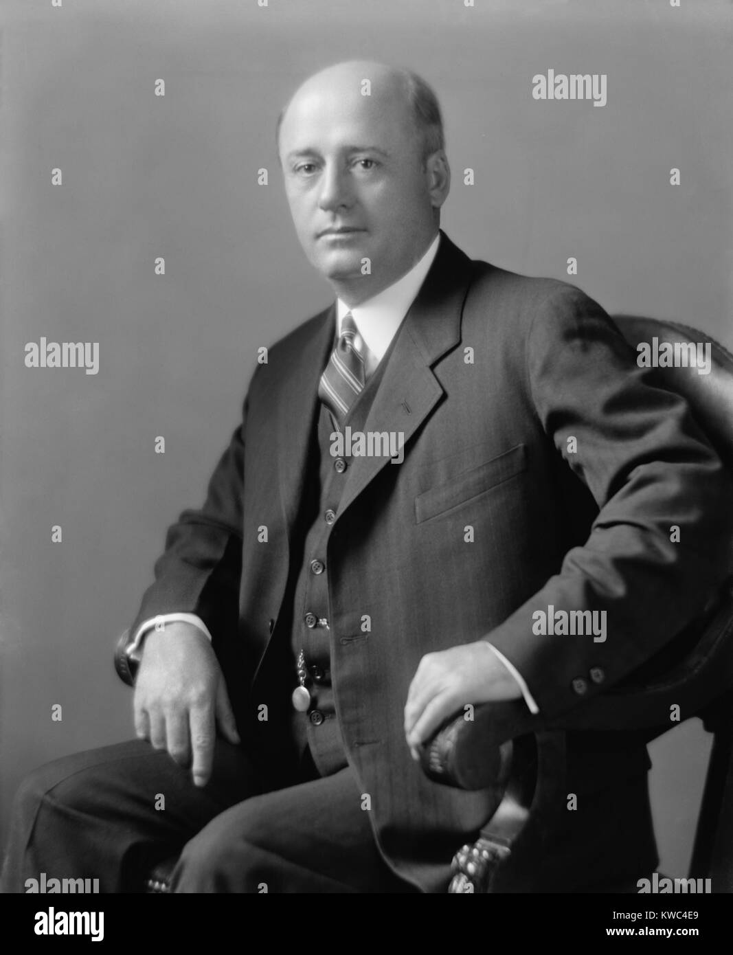 Congressman Sam Rayburn in the 1920s. He represented Texas' 4th district from 1913 to 1961. For seventeen of - Stock Image