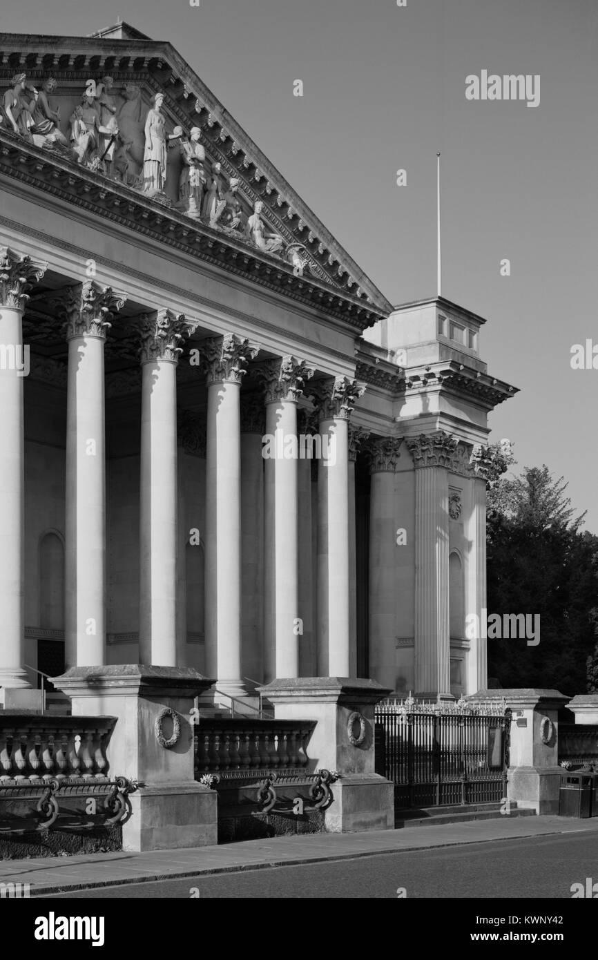 Fitzwilliam Museum, Trumpington Street Cambridge - Stock Image