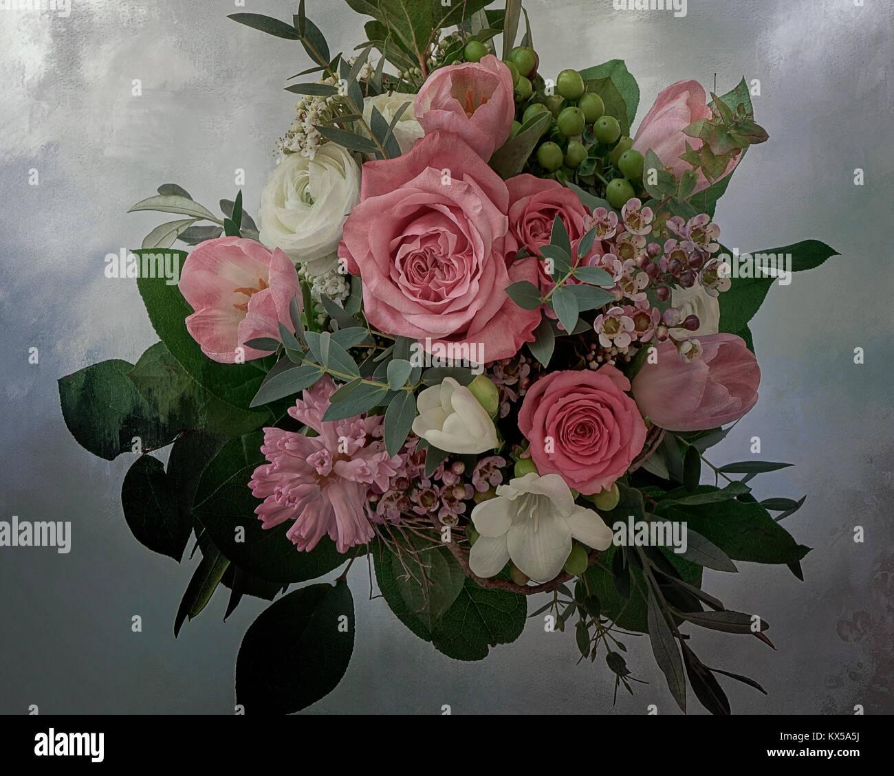 PHOTO ART: Floral Arrangement - Stock Image