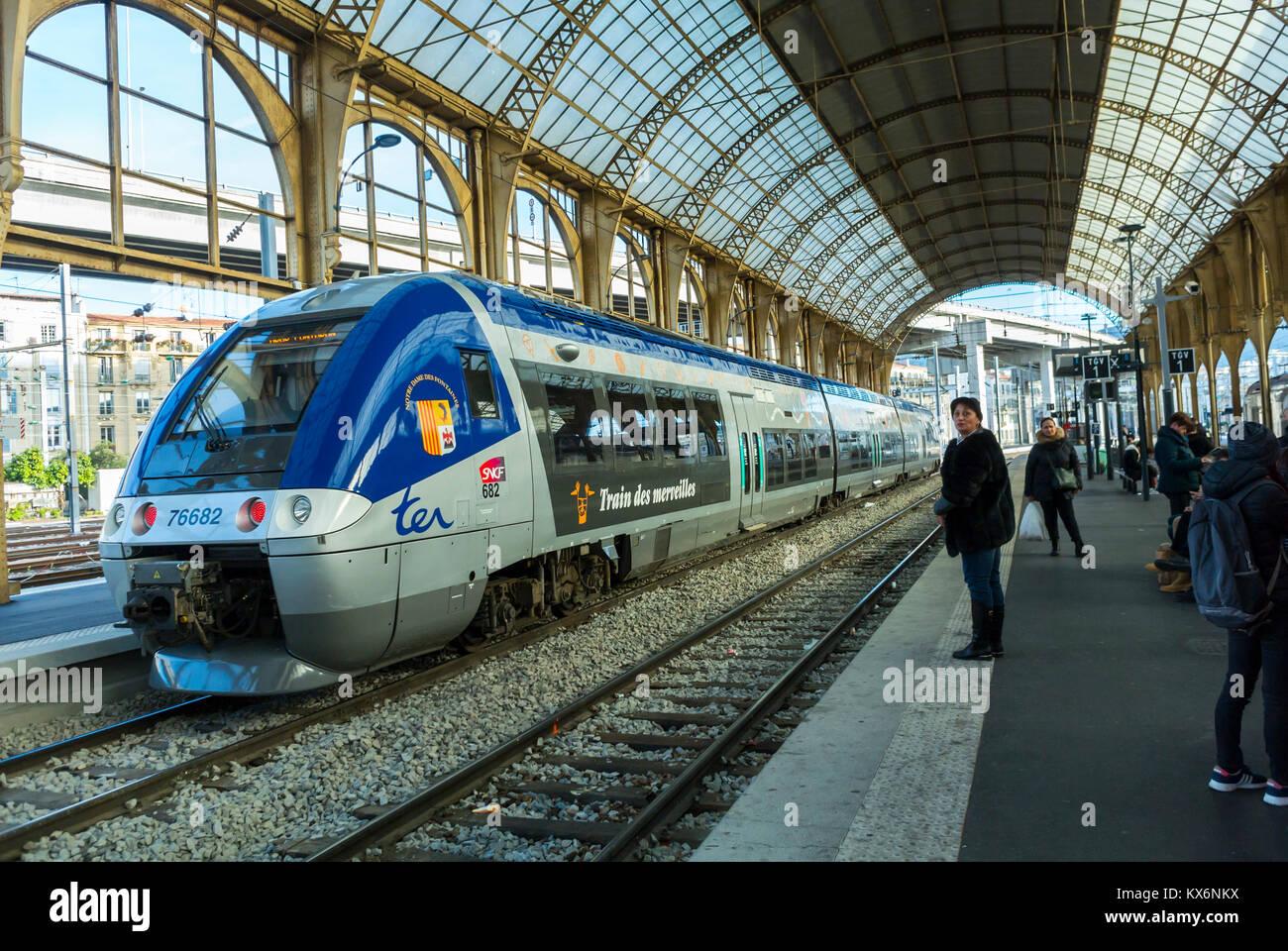 Nice, France - Stock Image