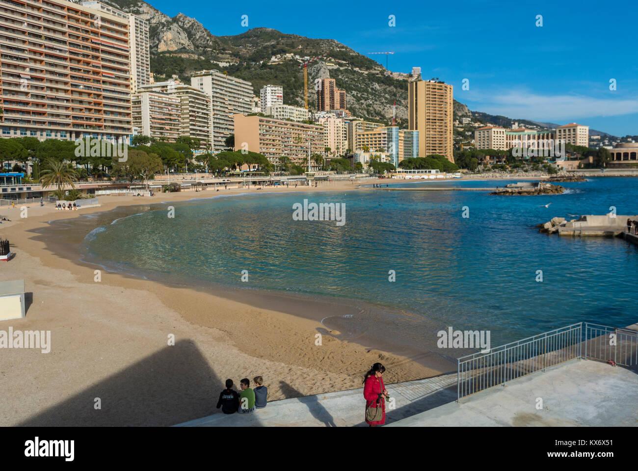 Monaco, Monte Carlo, - Stock Image