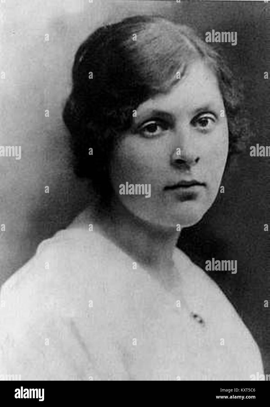 Elsa Triolet, 1916 Stock Photo