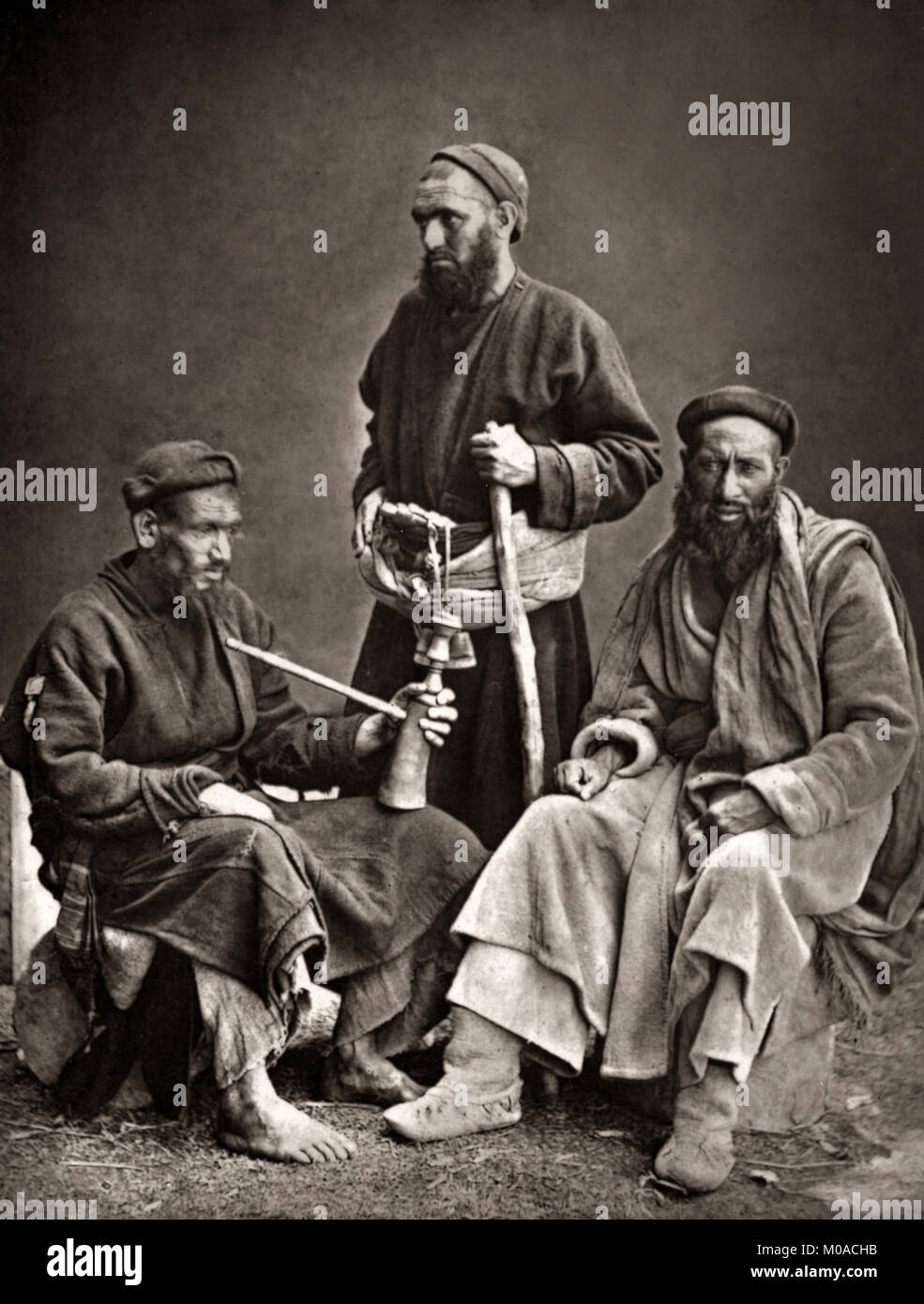 Dards, tribe from northern Pakistan, north-western India, and eastern Afghanistan, c.1880's - Stock Image