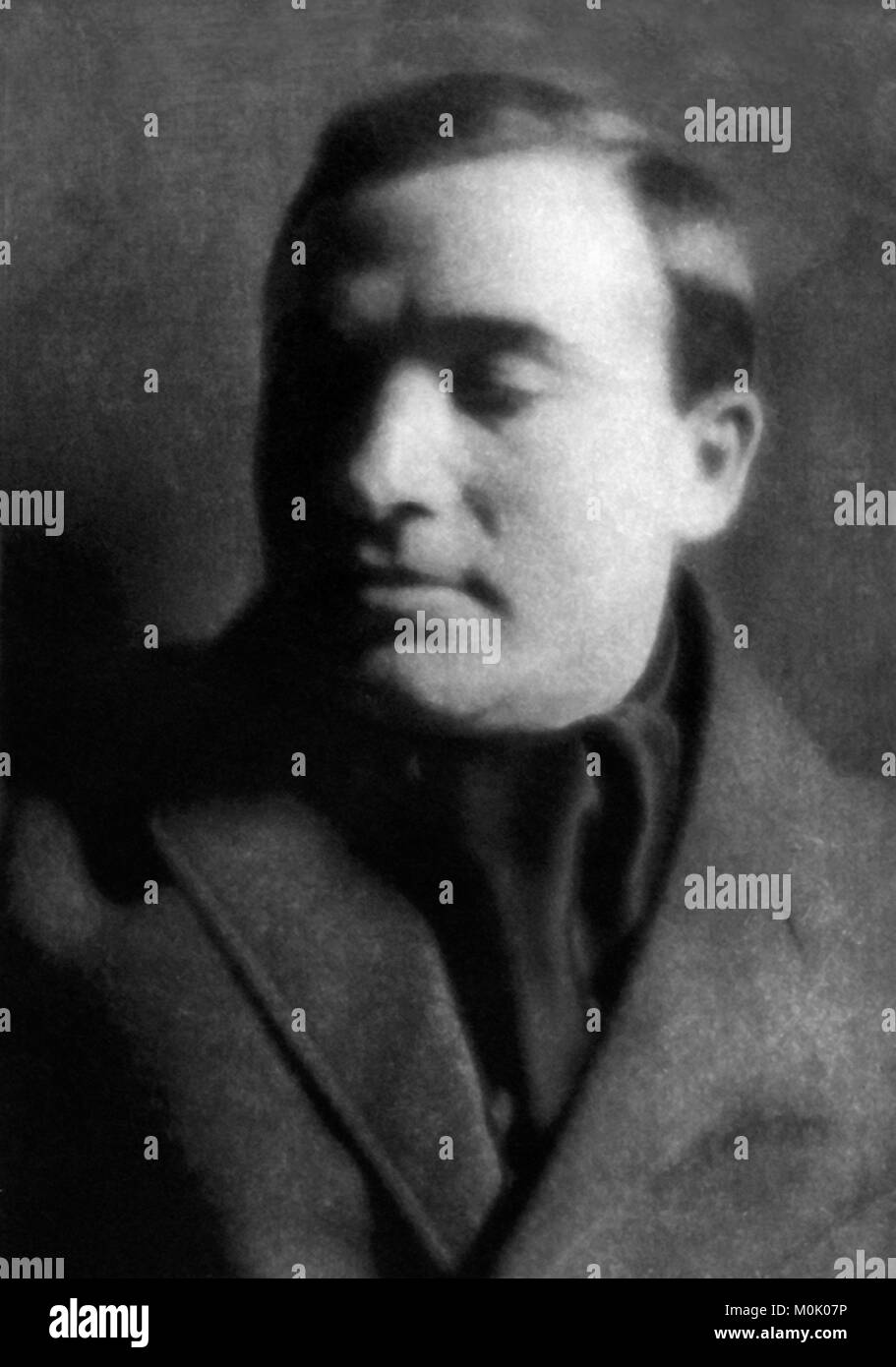 Max Weber (1864-1920). Portrait of the German sociologist, philosopher and political economist, photograph by Alvin - Stock Image