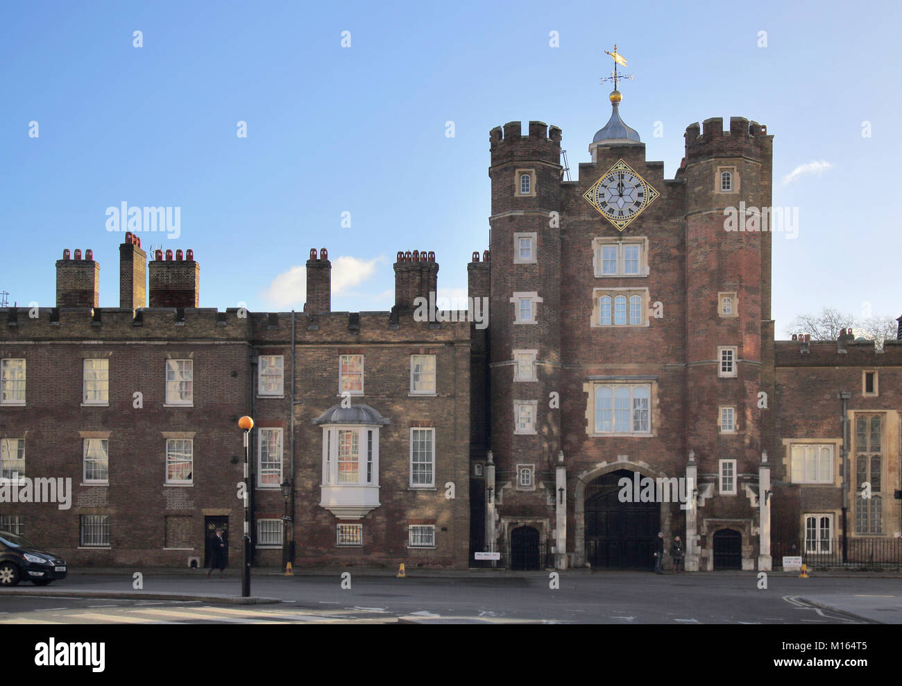 st james palace pall mall london Stock Photo