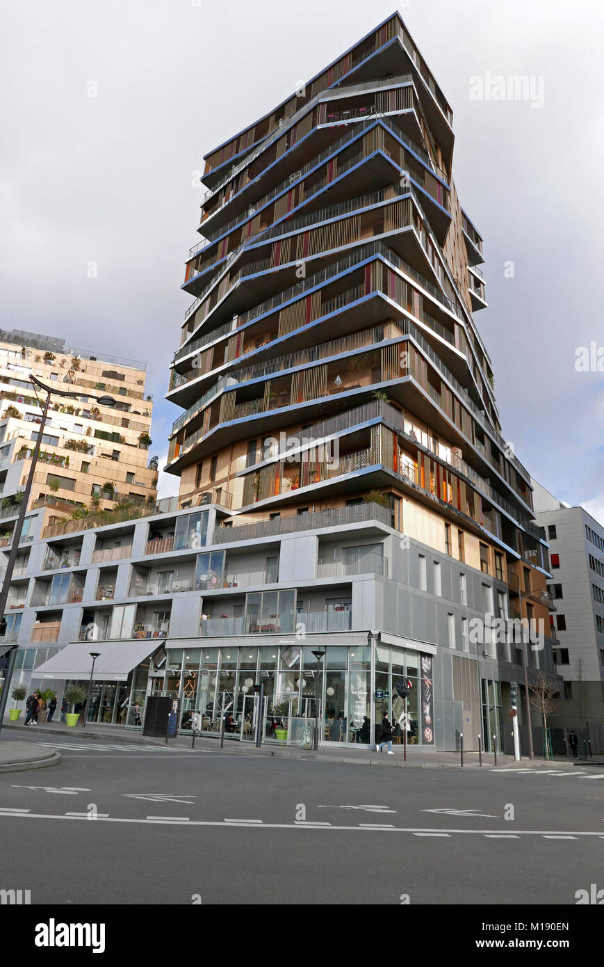 Honorine Restaurant Modern Architecture Avenue De France New