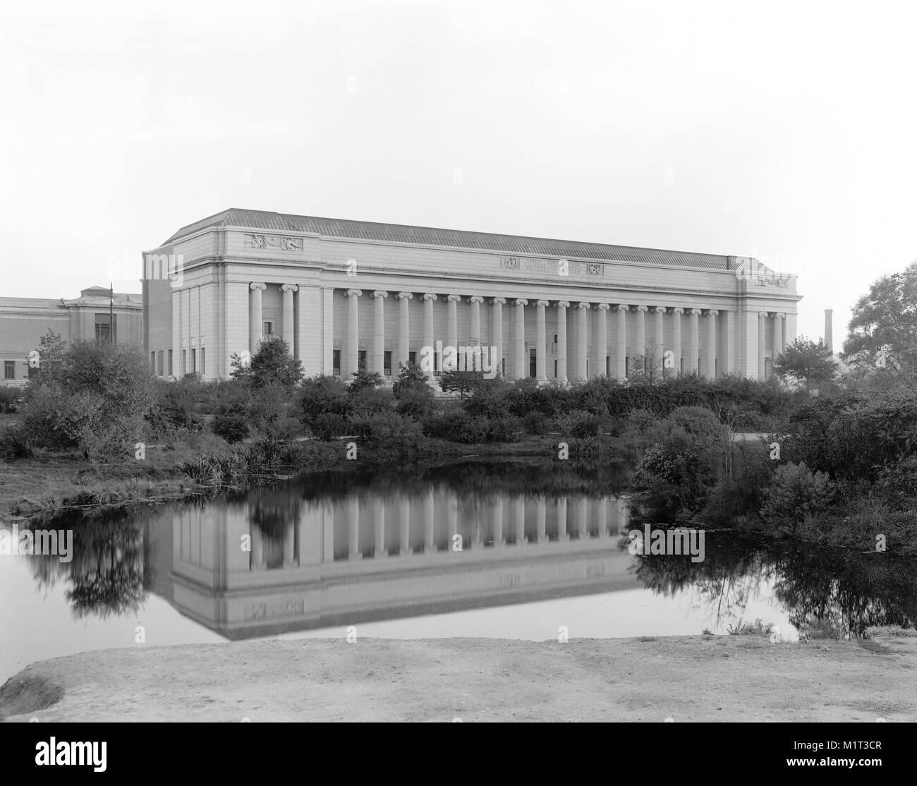 Museum of Fine Arts, Boston, Massachusetts, USA, Detroit Publishing Company, 1915 - Stock Image
