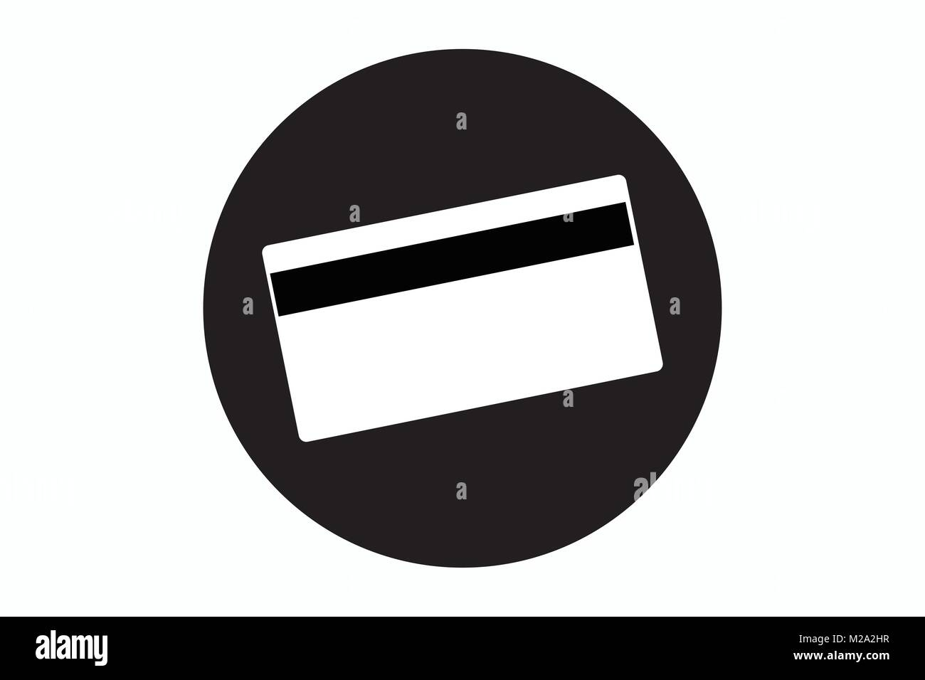 Credit Card Icon Bank Card Icon Plastic Payment Symbol Debit Card