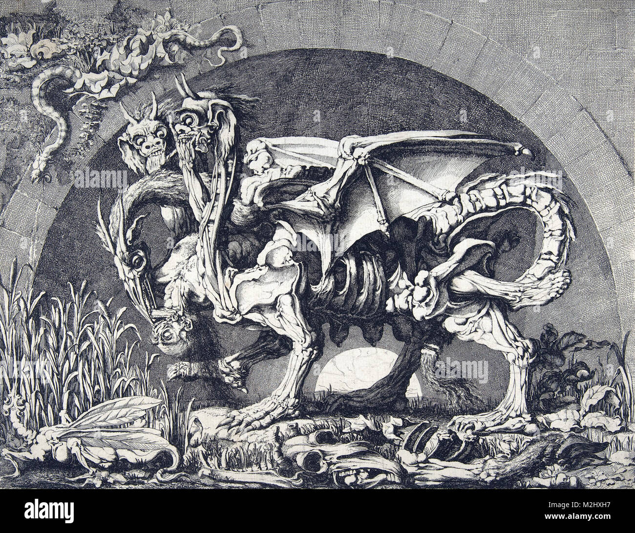 Chimera, Legendary Creature - Stock Image