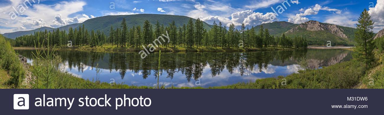 East Sayan mountains - Stock Image