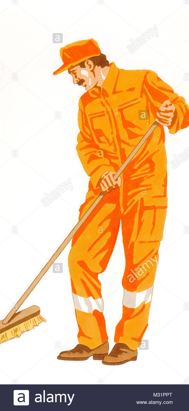 Street Sweepers - Stock Image