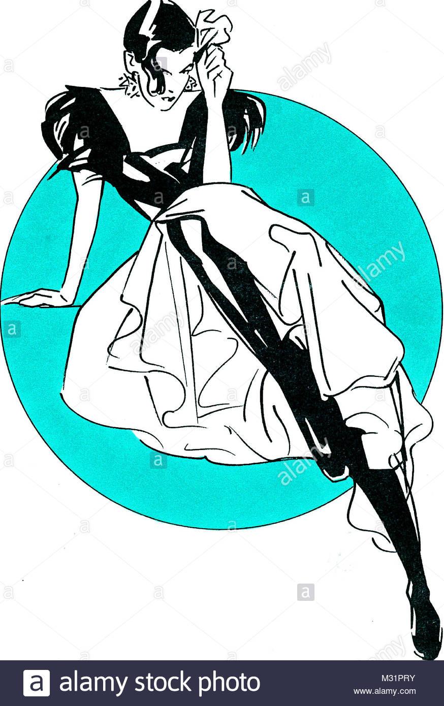 Carmen figure - Stock Image