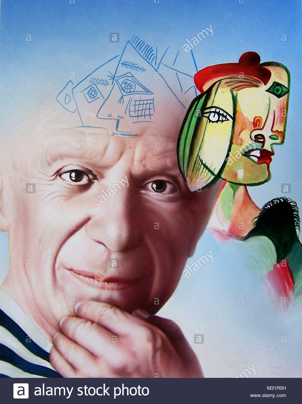 Picasso - Stock Image
