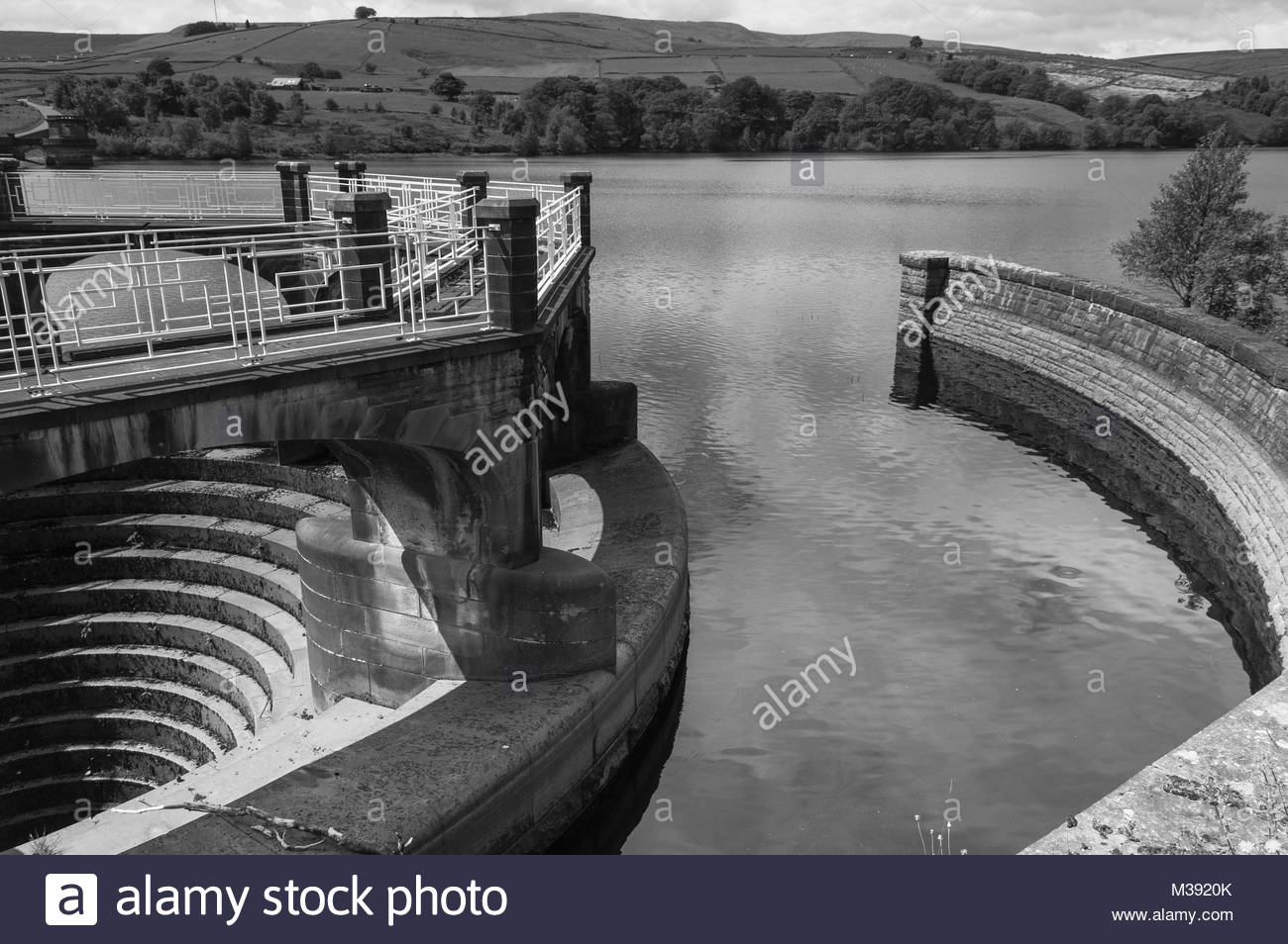 Digley Overflow - Stock Image