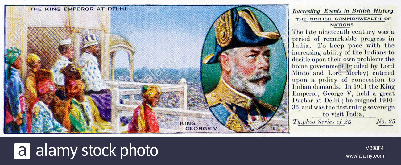 Interesting Events in British History - The British Commonwealth of Nations - Stock Image