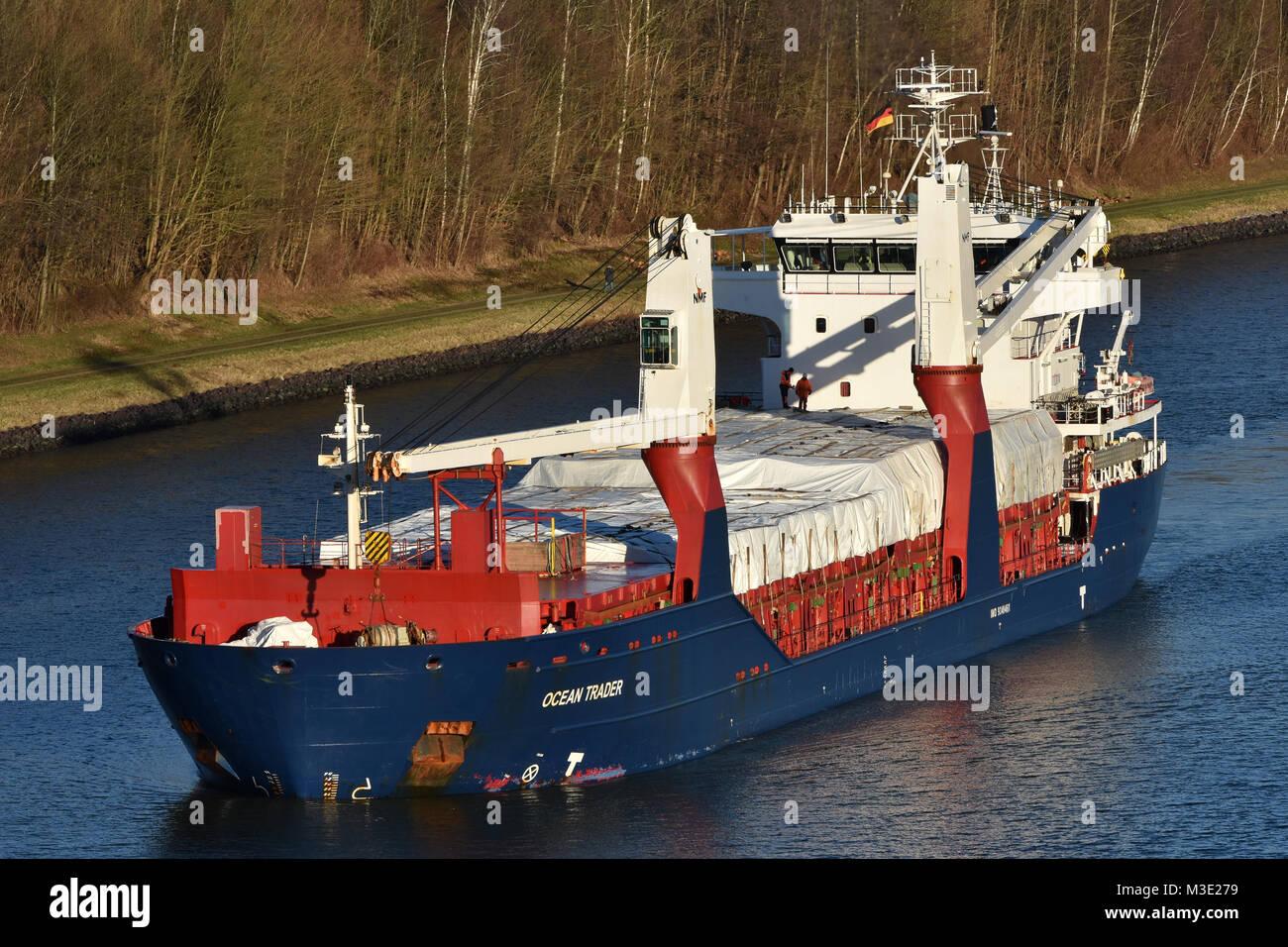 Ocean Trader - Stock Image