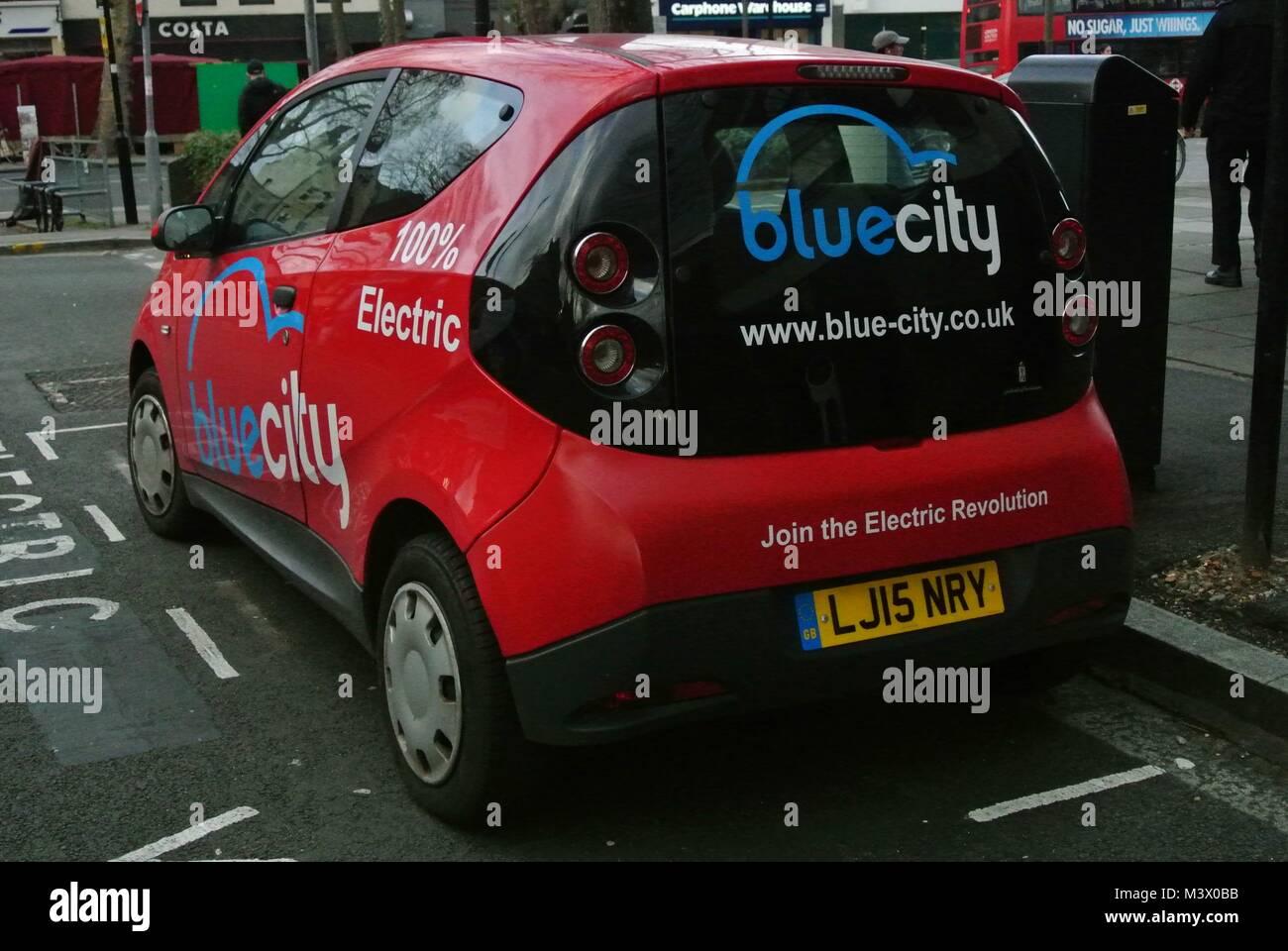 Zero Emission Cars, Electric/Hybrid - Stock Image