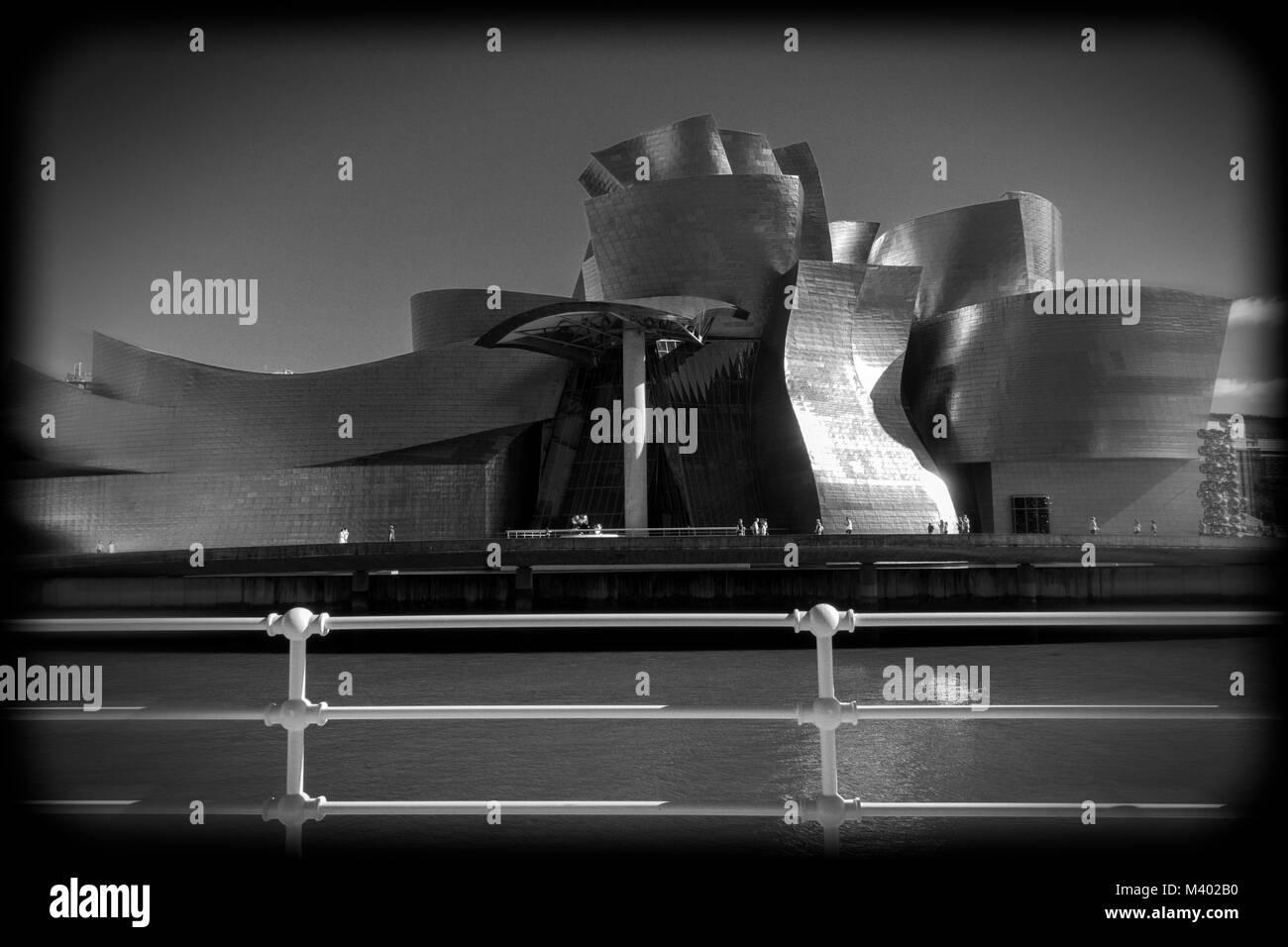 Guggenheim Museum.Bilbao.Guipuzcoa.Spain - Stock Image